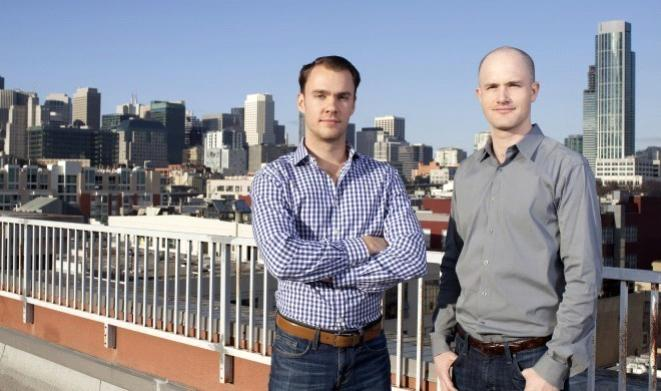 Coinbase exchange Founders