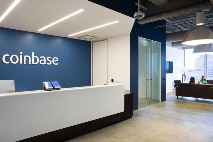 coinbase exchange office