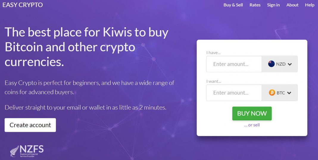 Easy Crypto Investing in Cryptocurrencies in New Zealand
