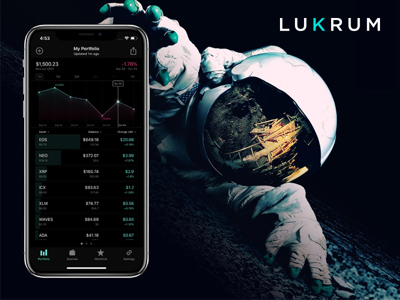 LUKRUM Portfolio Tracker Application
