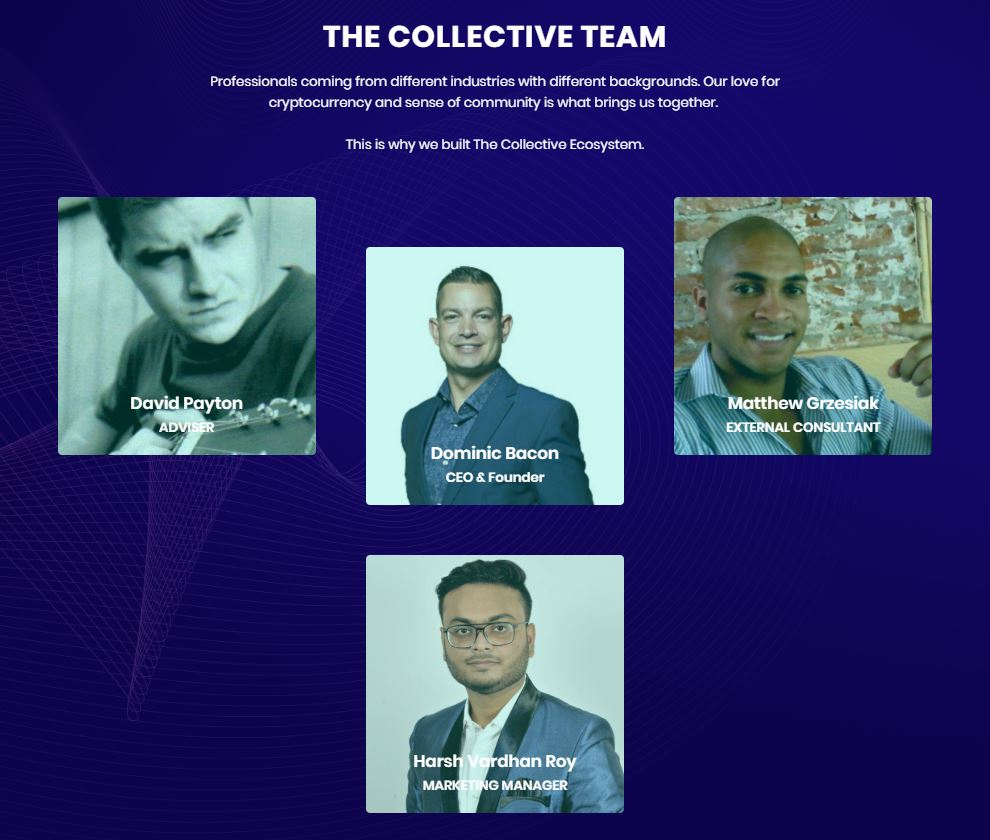 The Collective ICO team