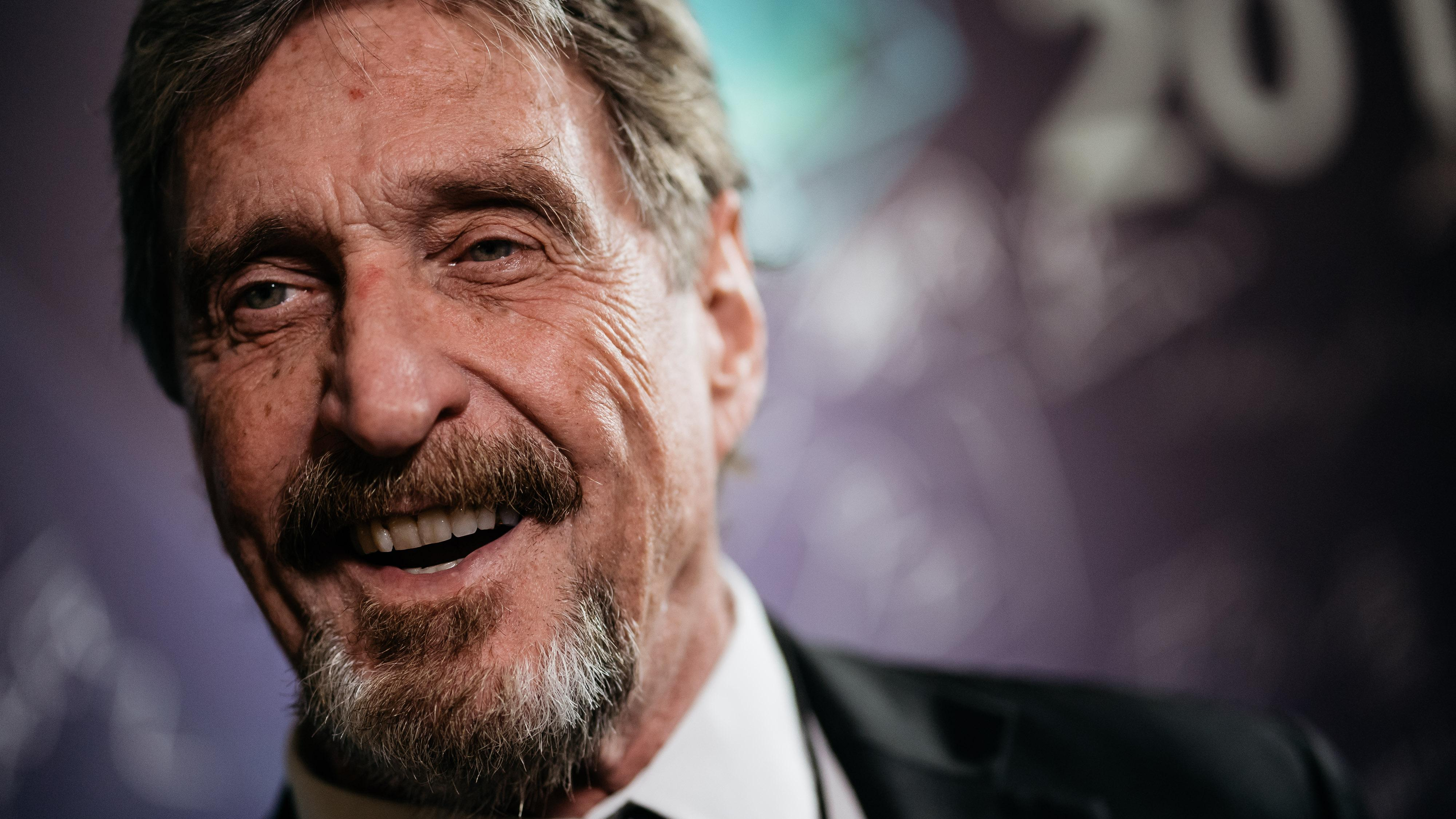 Who is john mcafee cryptocurrency