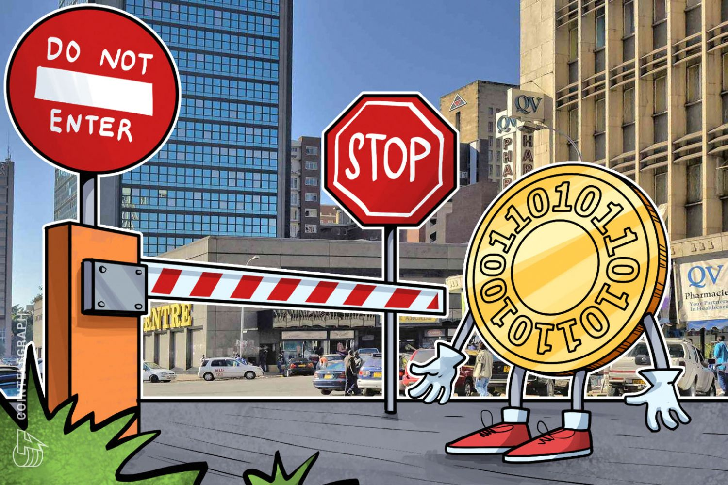 Zimbabwe S Central Bank Has Recently Banned Dometic Financial Insutions From Dealing With Cryptocurrencies Local Media Outlet Newsday Reports Today