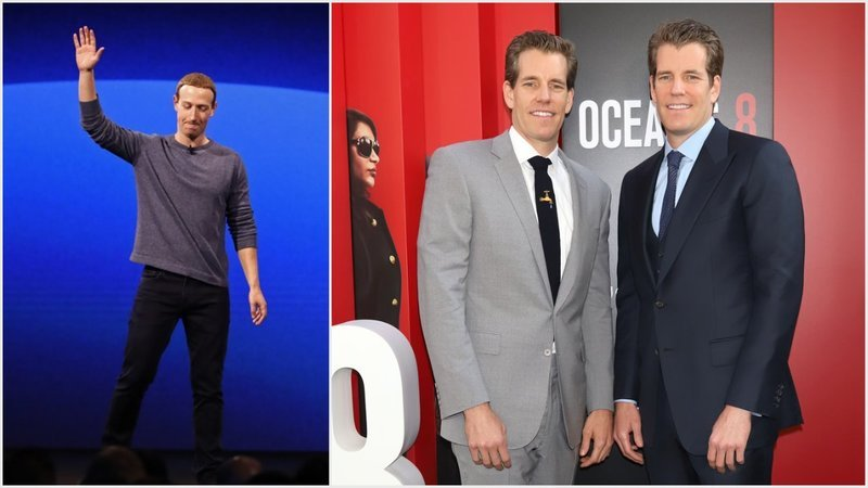 Zuck Is Trolling Winklevoss Twins with Libra